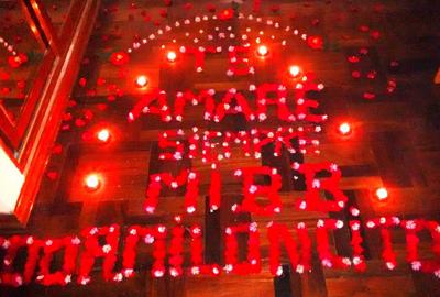 Hotel panamericano per for Cuartos decorados con velas